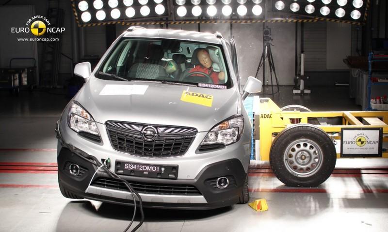 Lire l'article «Cinq étoiles Euro NCAP pour l'Opel Mokka»
