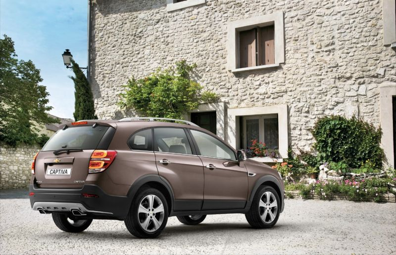 Lire l'article «Salon de Genève : Chevrolet Captiva restylé»