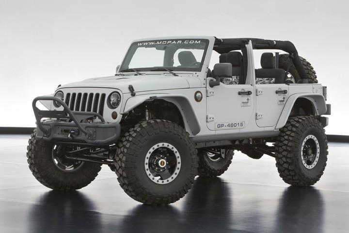 Lire l'article «Jeep présente 6 nouveaux concepts»