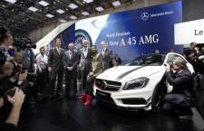 Mercedes Classe A45 AMG : première mondiale et édition spéciale