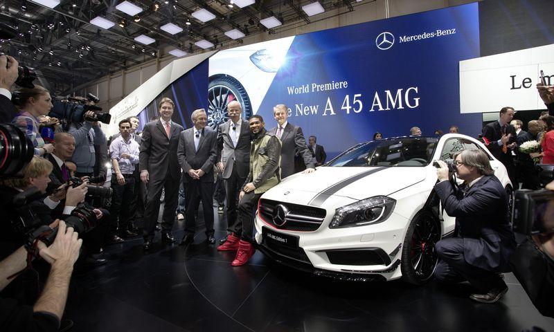 Lire l'article «Mercedes Classe A45 AMG : première mondiale et édition spéciale»