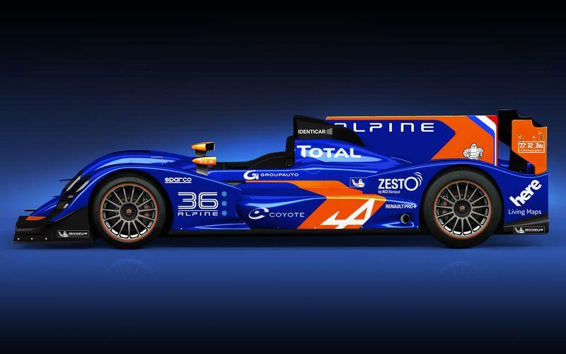Lire l'article «24 Heures du Mans 2013 : Renault dévoile l'Alpine n°36»