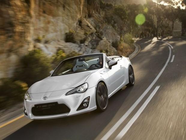 Lire l'article «Salon de Genève : Toyota FT-86 Open Concept»