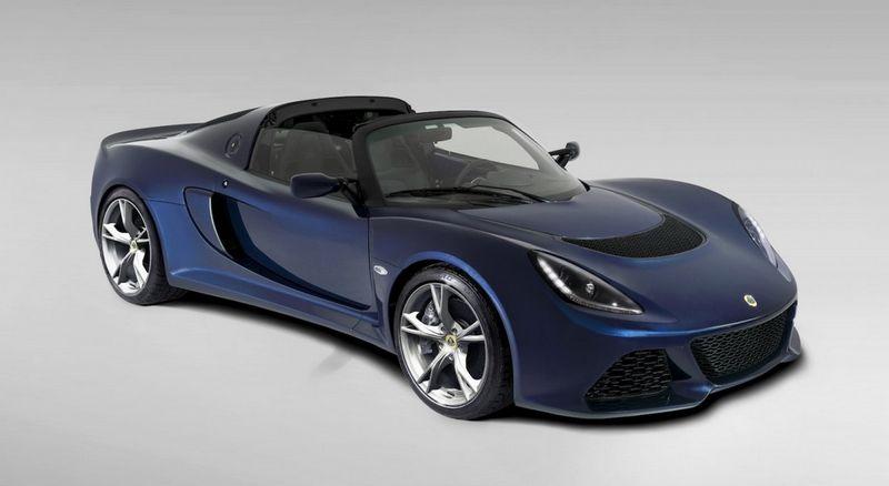 Lire l'article «Nouveau Lotus Exige S Roadster»