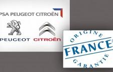 6 modèles du groupe PSA obtiennent le label «origine France garantie»