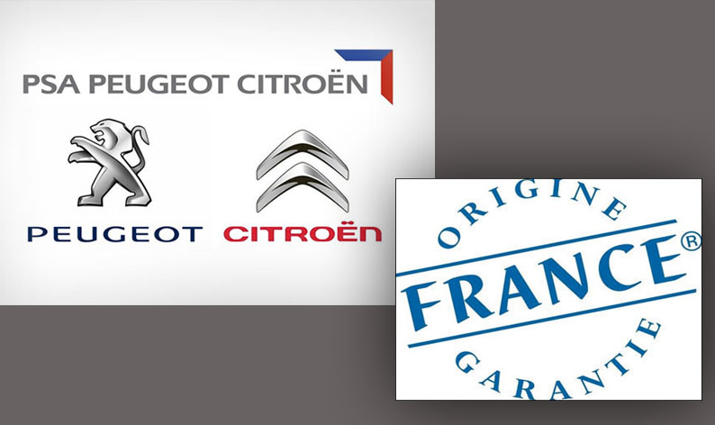 Lire l'article «6 modèles du groupe PSA obtiennent le label «origine France garantie»»