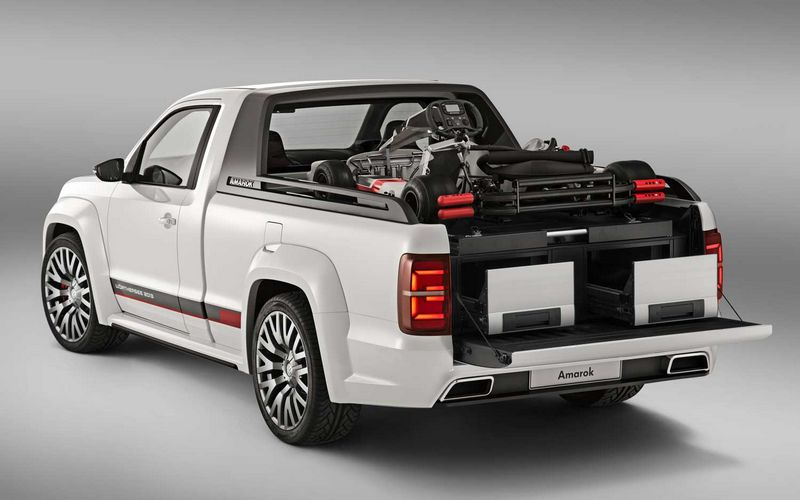 volkswagen amarok r style concept le pick up gti. Black Bedroom Furniture Sets. Home Design Ideas