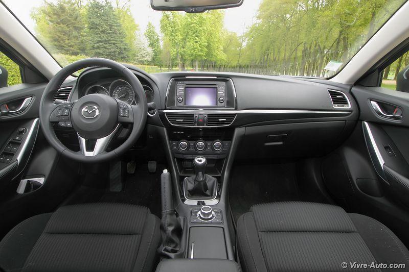 Lire l'article «Essai Mazda 6 Skyactiv-D 150 ch : grande et sobre»
