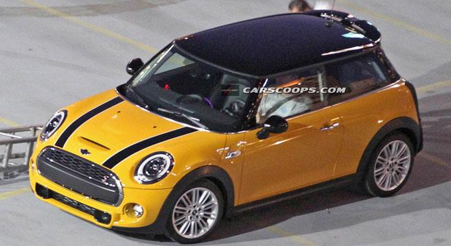 Lire l'article «Scoop : première photo de la future Mini Cooper S»