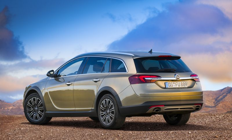 Lire l'article « Opel Insignia Country Tourer : »