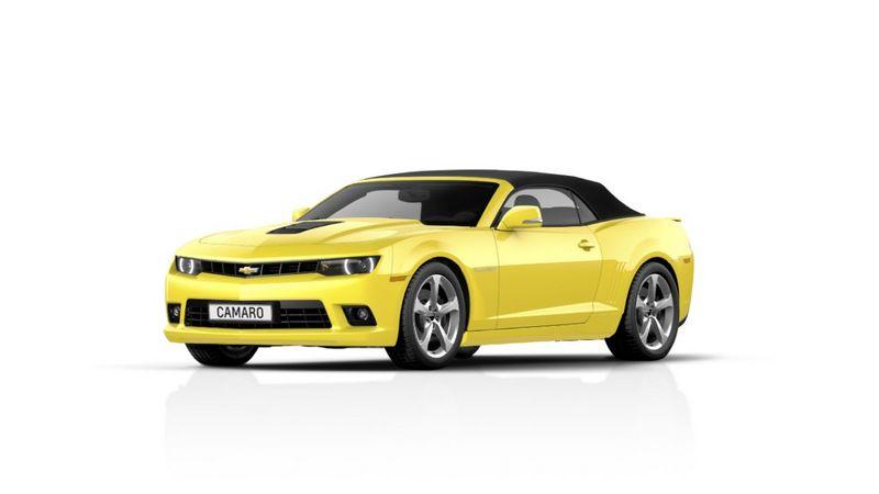 Lire l'article «Chevrolet Camaro cabriolet : Restylée pour la nouvelle année»