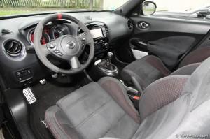 Nissan Juke Nismo intérieur - essai Vivre Auto