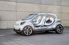Smart Fourjoy Concept, la Smart à quatre places cousine de la future Twingo
