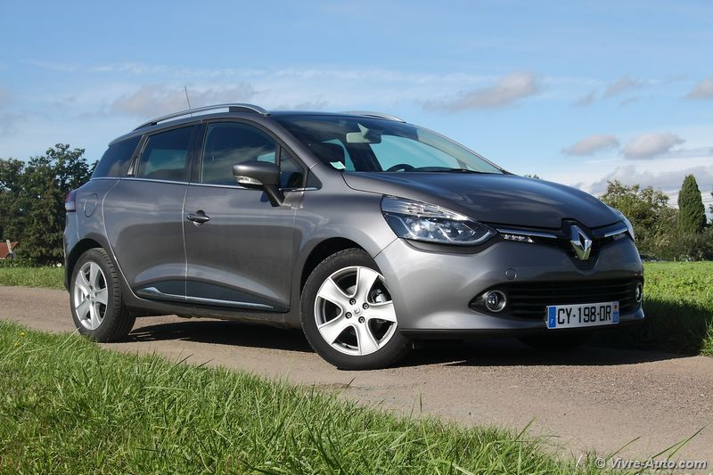 Lire l'article « Essai Renault Clio 4 Estate dCi 90 EDC Intens »
