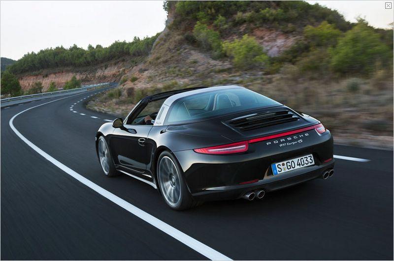 Lire l'article «Nouvelle Porsche 911 Targa : le coupé-cabriolet»