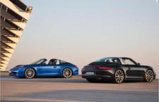 Nouvelle Porsche 911 Targa : le coupé-cabriolet
