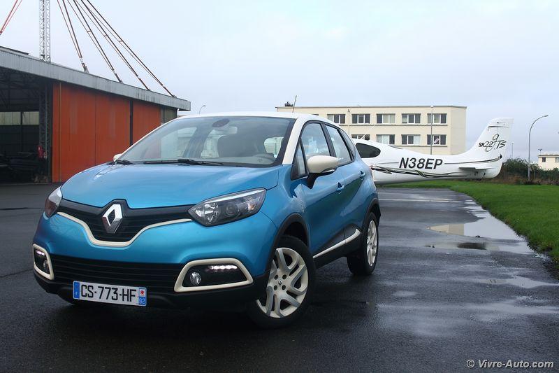 Lire l'article «Essai Renault Captur dCi 90 : de l'audace !»