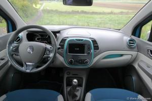 Renault Captur Intérieur - Essai sur Vivre Auto