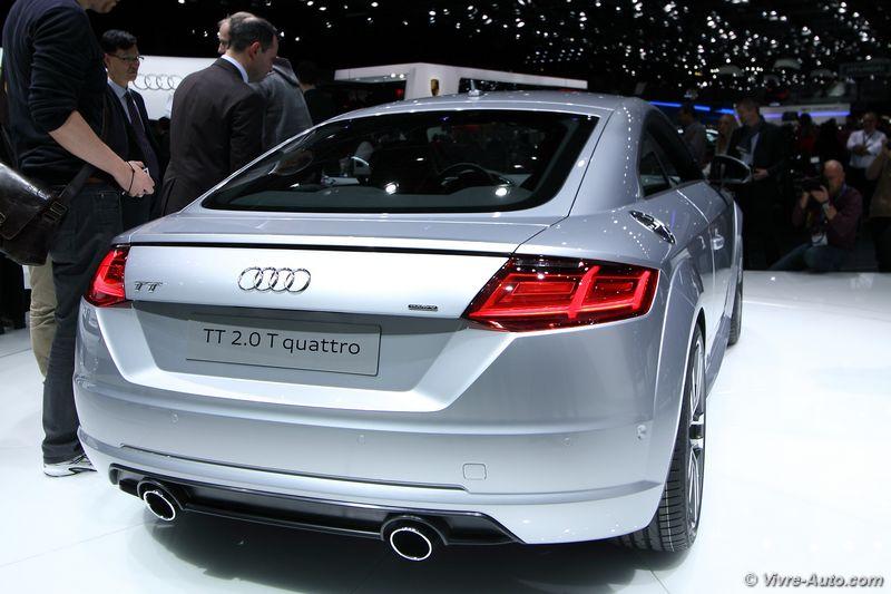 Lire l'article «Nouvelle Audi TT : faire plus avec moins»