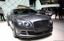 Bentley Continental GT Speed, des chevaux en plus pour Genève