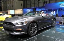 Nouvelle Ford Mustang Cabriolet, en route pour l'Europe !