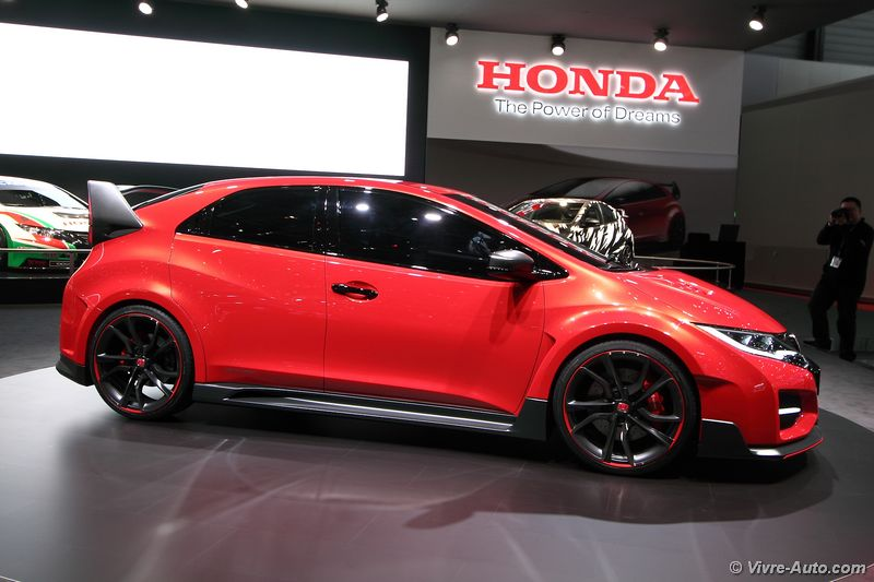 Lire l'article « Honda Civic Type R Concept »
