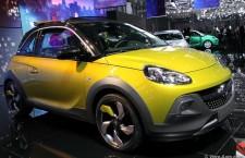 Opel Adam Rocks : découvrable