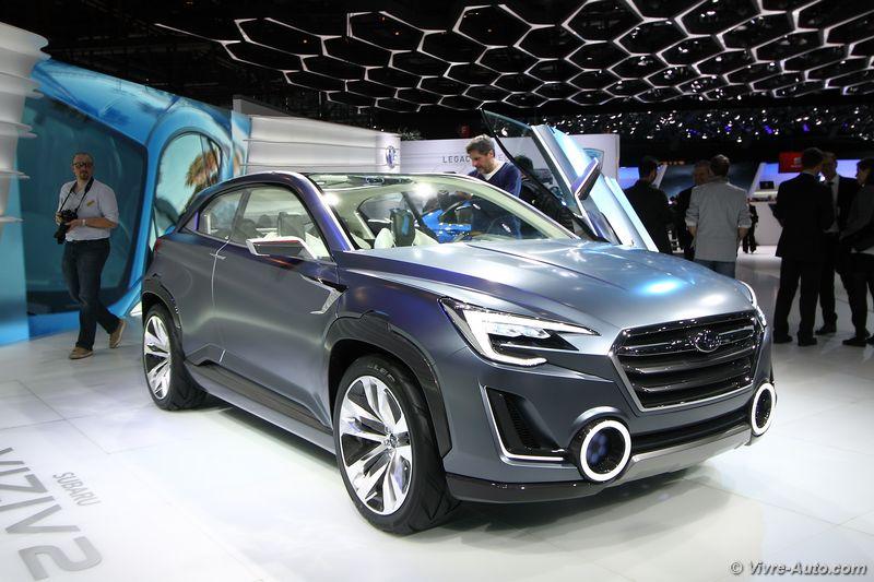 Lire l'article «Subaru Viziv 2 Concept : un futur SUV hybride ?»