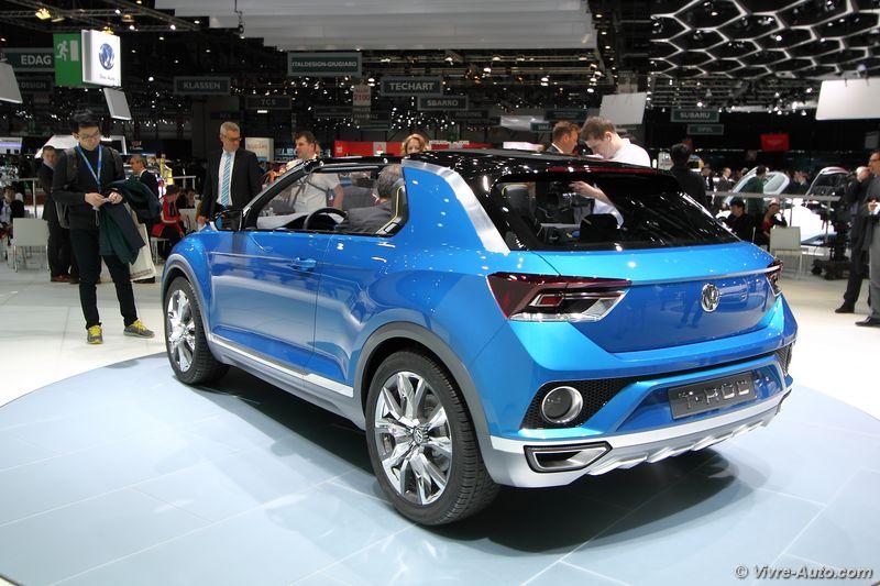 Lire l'article «Volkswagen T-Roc Concept»