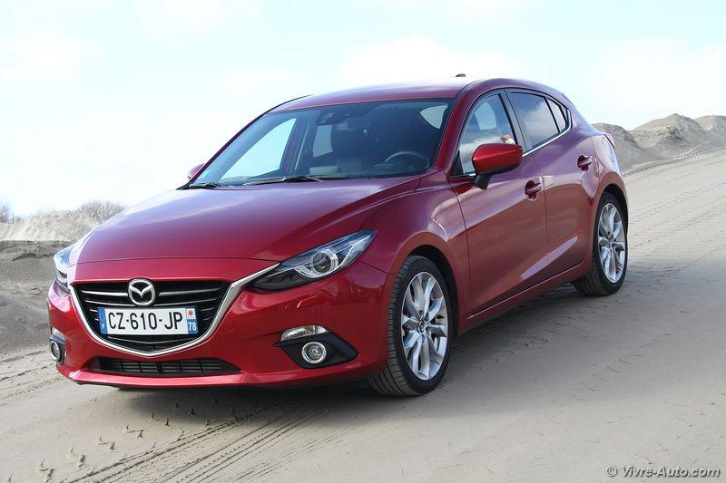 Lire l'article «Essai Mazda 3 2.2 Skyactiv-D 150 Dynamique»