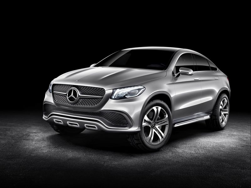 Lire l'article « Mercedes Concept Coupé SUV : le concurrent du X6 »