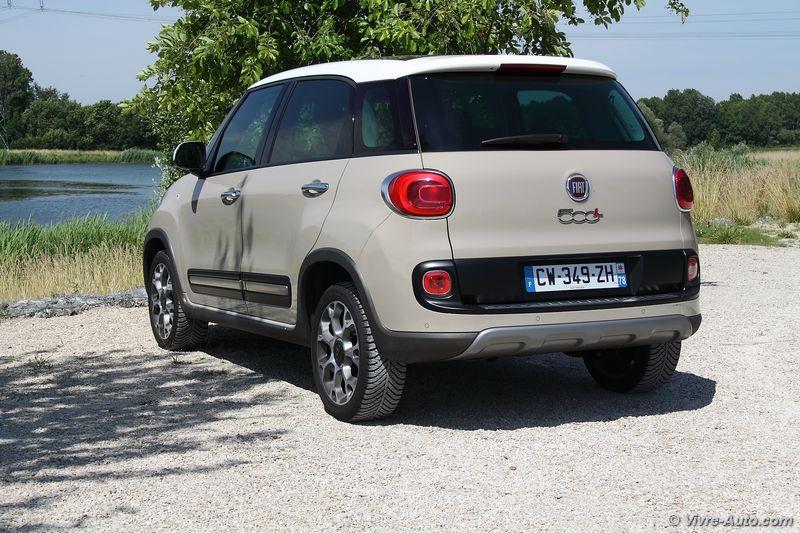 Lire l'article «Essai Fiat 500L Trekking 1.6 Multijet 105»