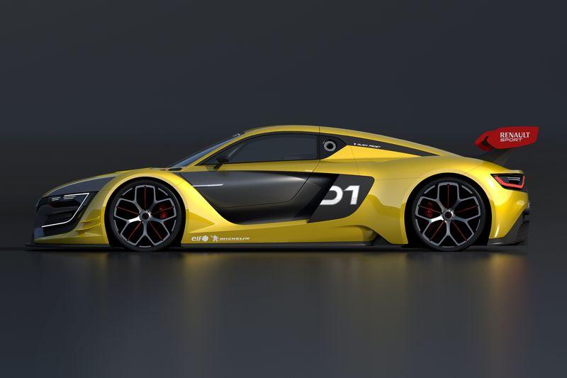 Lire l'article «Renault Sport R.S. 01 : découvrez cette GT en photos et vidéo»
