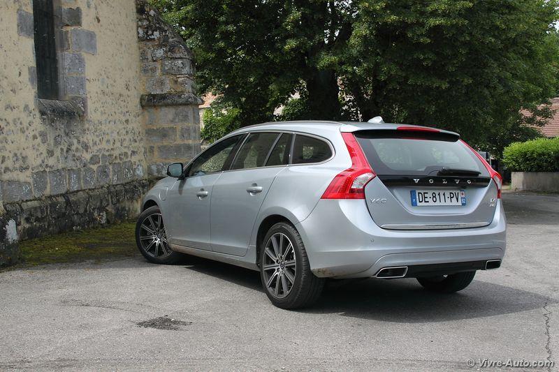 Lire l'article «Essai Volvo V60 D6 AWD Plug-In Hybrid»