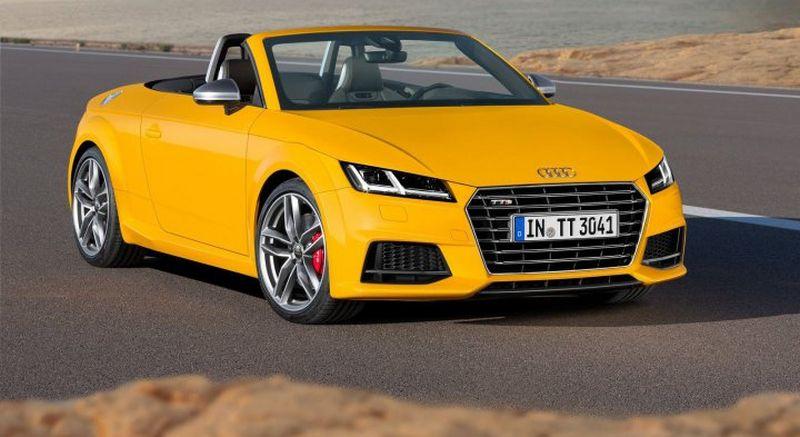 Lire l'article «Audi TT Roadster et TTS Roadster»