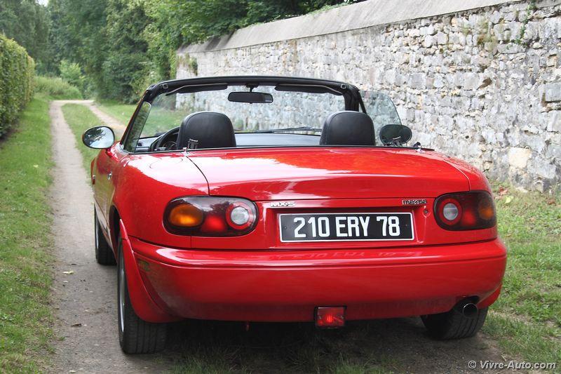 Lire l'article «Essai Mazda MX-5 NA de 1991, le début d'un long succès»