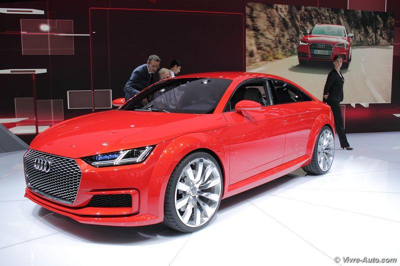 Lire l'article «Audi TT Sportback Concept»