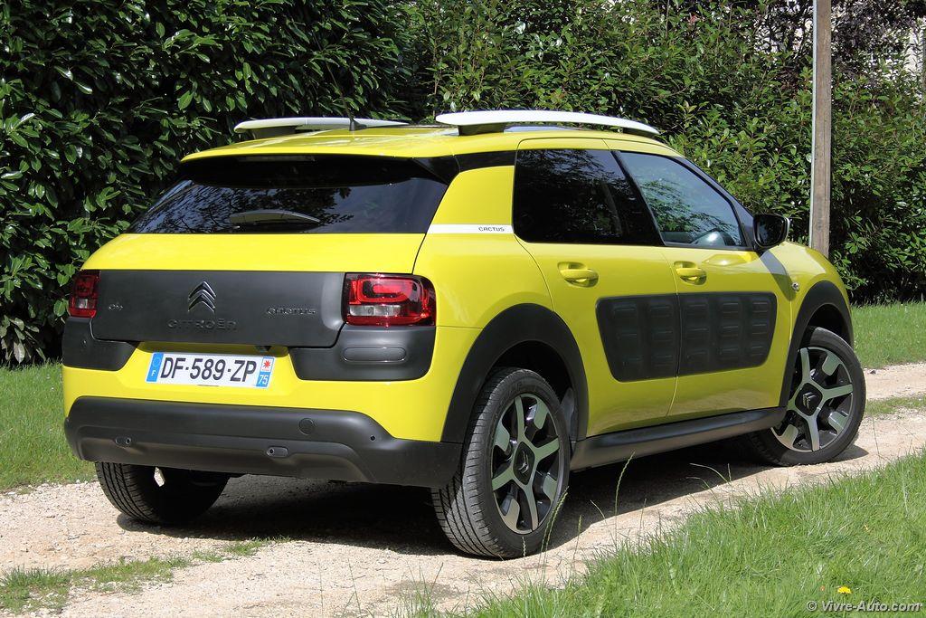 Lire l'article «Essai Citroën C4 Cactus PureTech 110 S&S : l'essence à l'honneur»