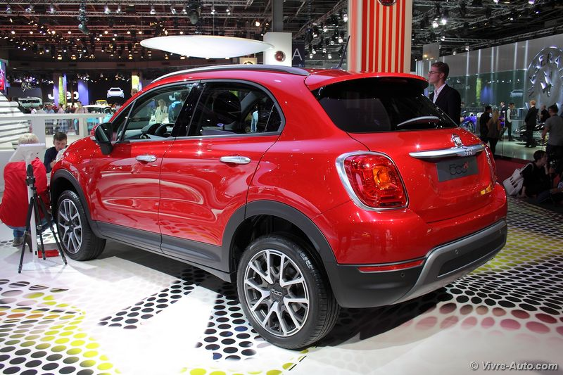 nouvelle fiat 500x de l 39 in dit. Black Bedroom Furniture Sets. Home Design Ideas