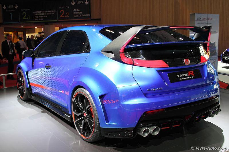 Lire l'article «Honda Civic Type R prototype, dernière étape avant la commercialisation»