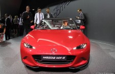 Les photos du Mx-5 au salon de Paris