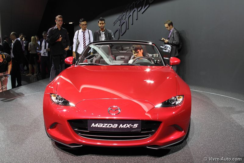 Lire l'article « Les photos du Mx-5 au salon de Paris »