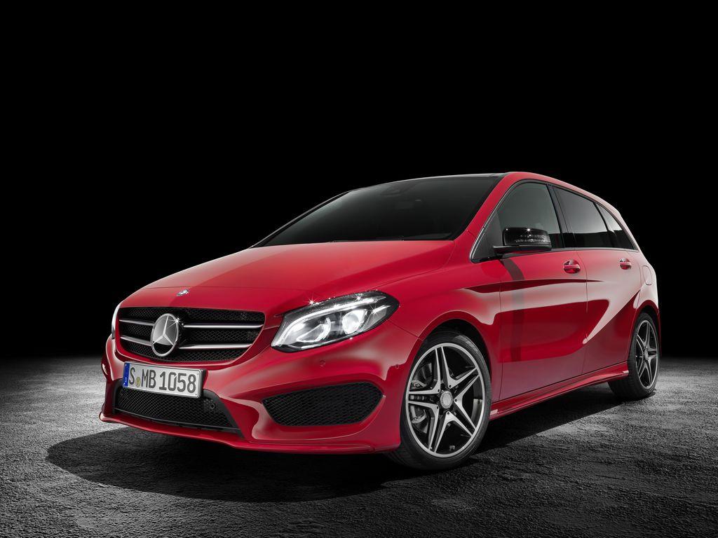 Lire l'article «Nouvelle Mercedes Classe B restylé»