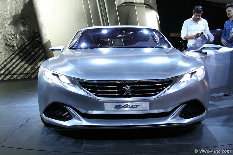 Lire l'article «Concept Peugeot Exalt : de retour pour Paris»