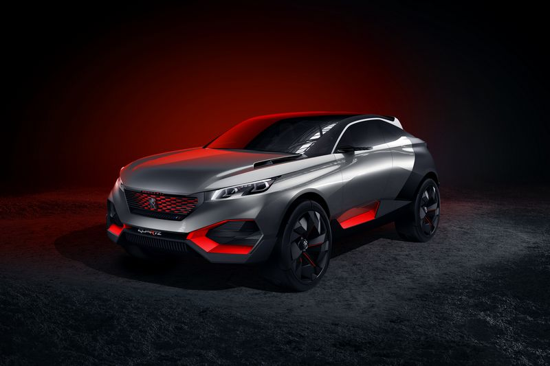 Lire l'article « Concept Peugeot Quartz »