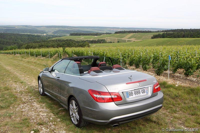 Lire l'article «Essai Mercedes Classe E Cabriolet 250 CGI»