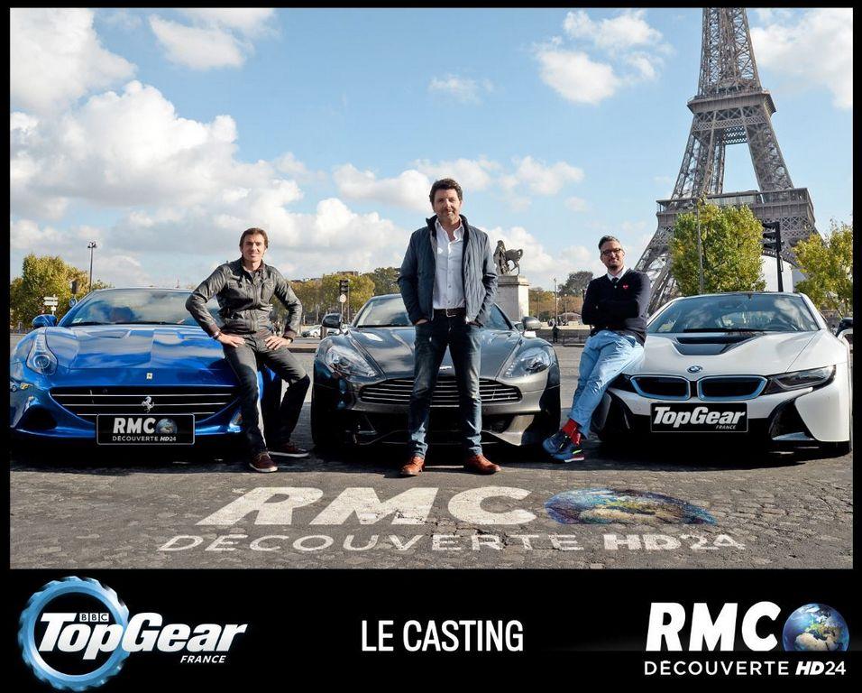 Lire l'article «Les trois animateurs de Top Gear France dévoilés !»