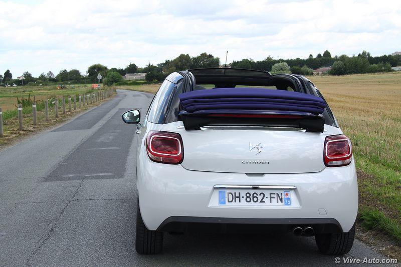Lire l'article «Essai DS 3 Cabrio restylée THP 165»