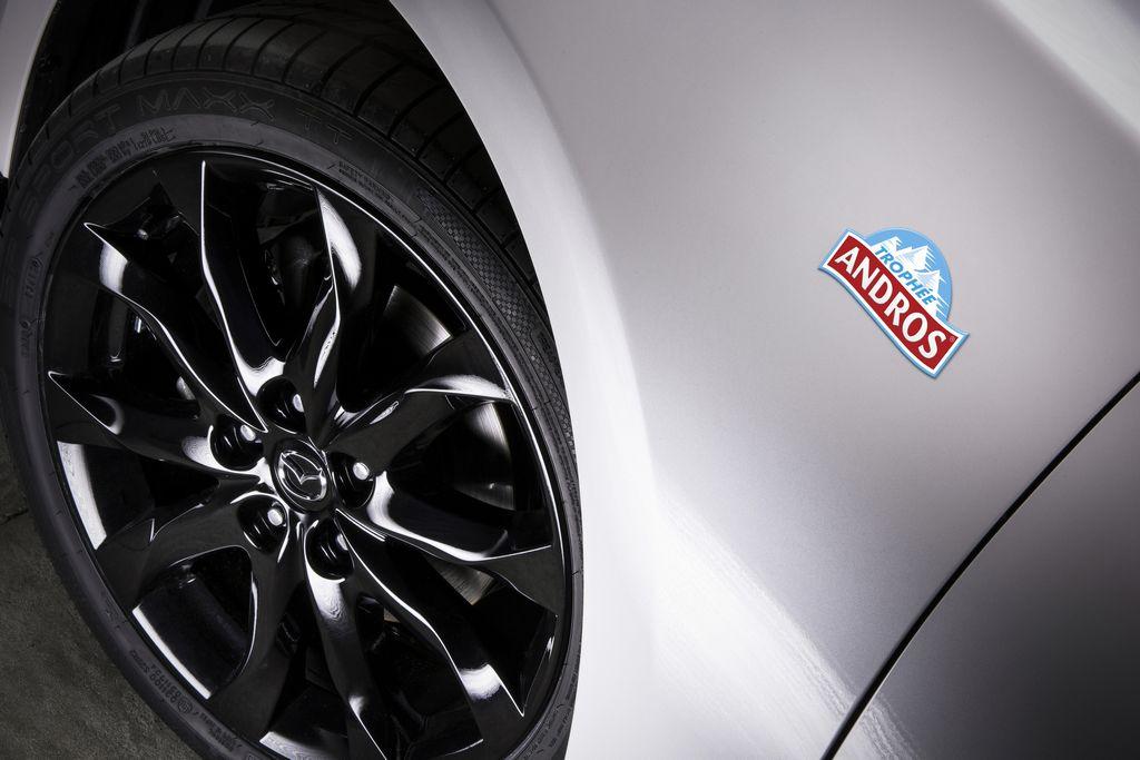 Lire l'article «Série Limitée Trophée Andros pour la Mazda 3»