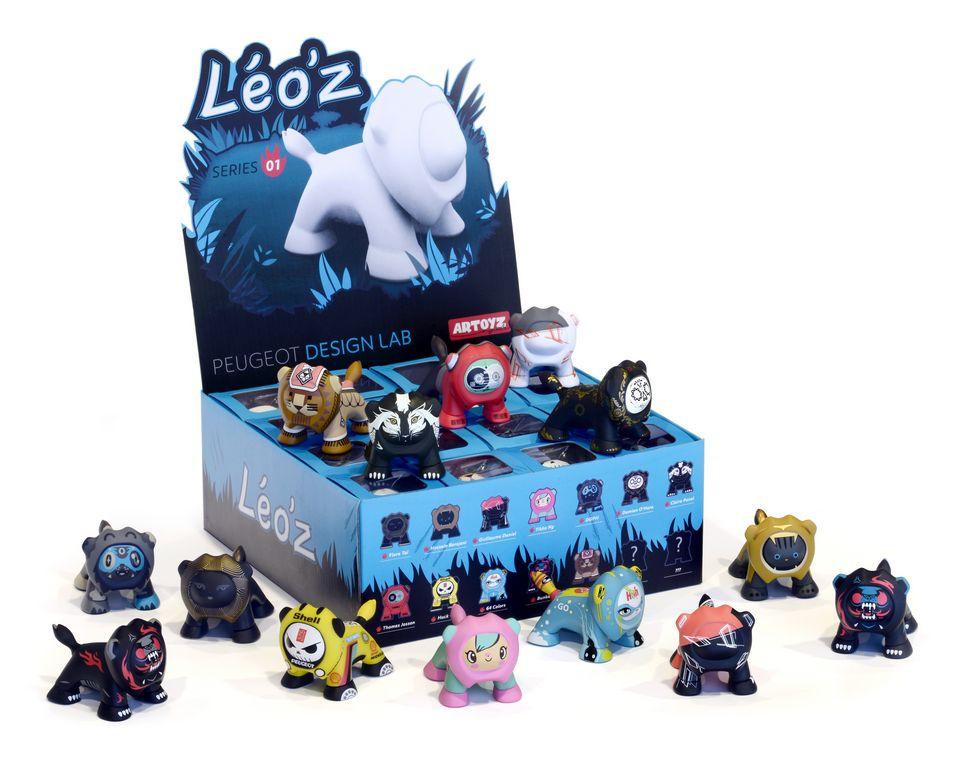 Lire l'article «Pour Noël, Peugeot lance 12 figurines Art Toys»